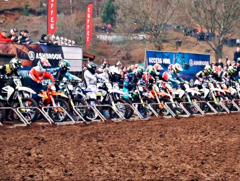 Евгений Бобрышев занял шестое место на Hawkstone International Motocross