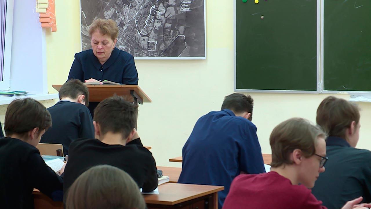 Калужские девятиклассники сдают итоговое собеседование по русскому языку
