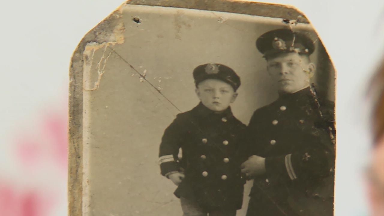 О погибшем во время войны отце, капитане второго ранга, вспоминает Маргарита Баркунова