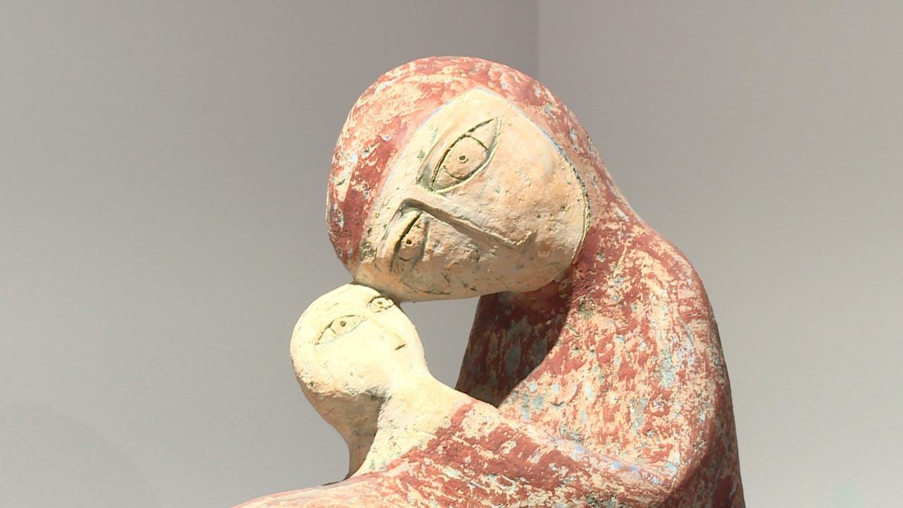 Абстрактная экспозиция скульптуры и графики ждет калужан в ИКЦ