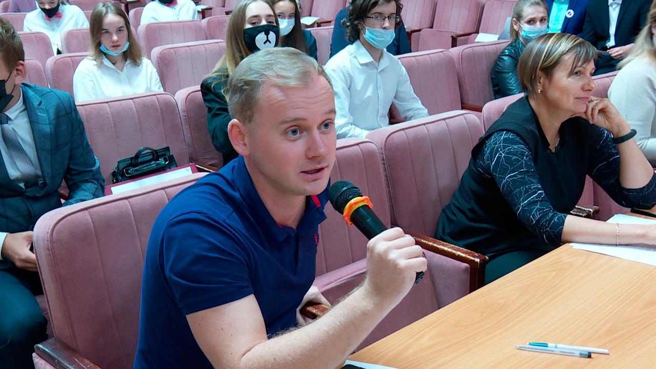 Финал дебатов среди школьников «На высоте» прошел в Калуге