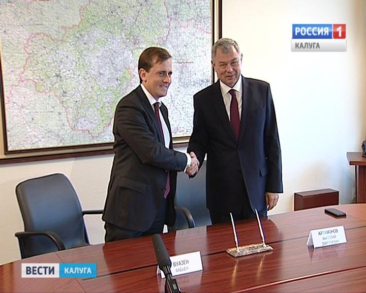 Какой крупный завод построят французы вКалужской области за $50 млн
