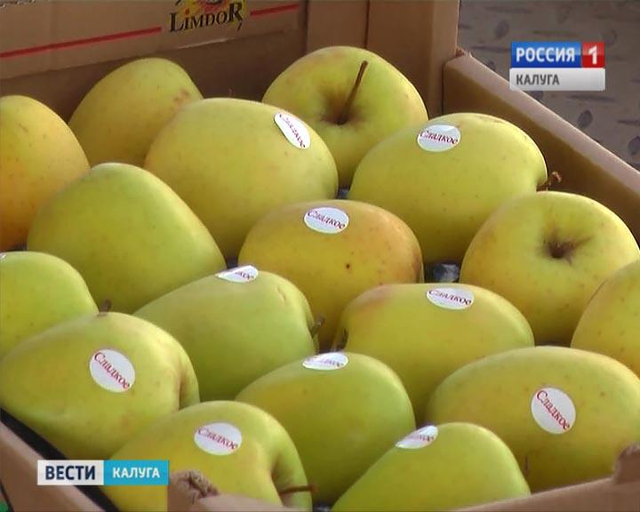 Уничтожена очередная партия свежих яблок изПольши