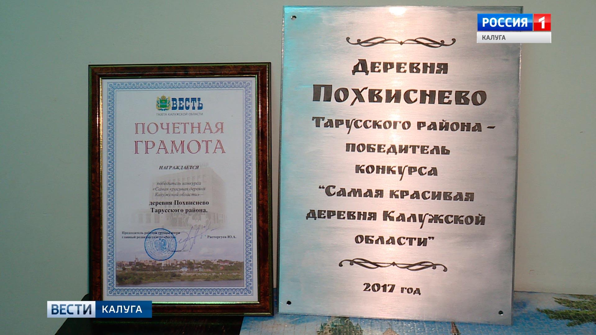 Самую красивую деревню выбрали вКалужской области