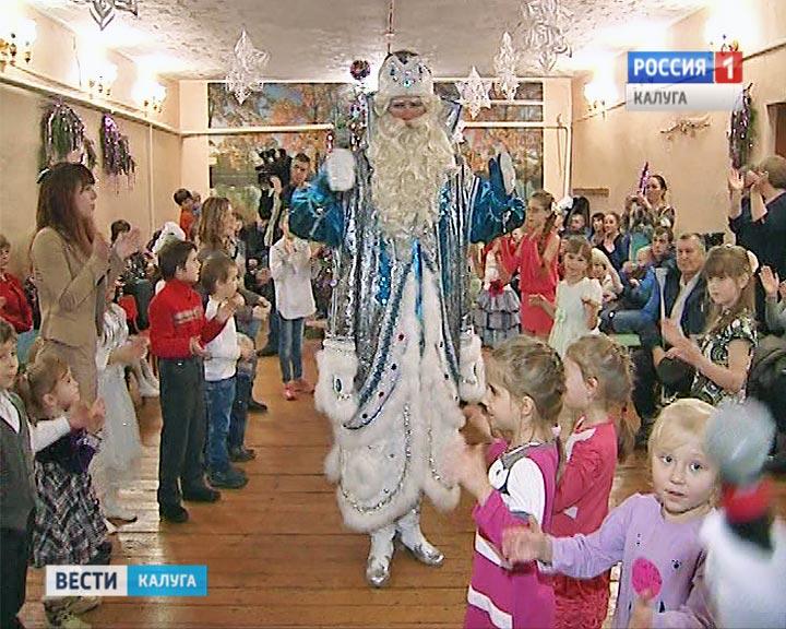 В селе Березичи праздник для семей из Донецка и Луганска.