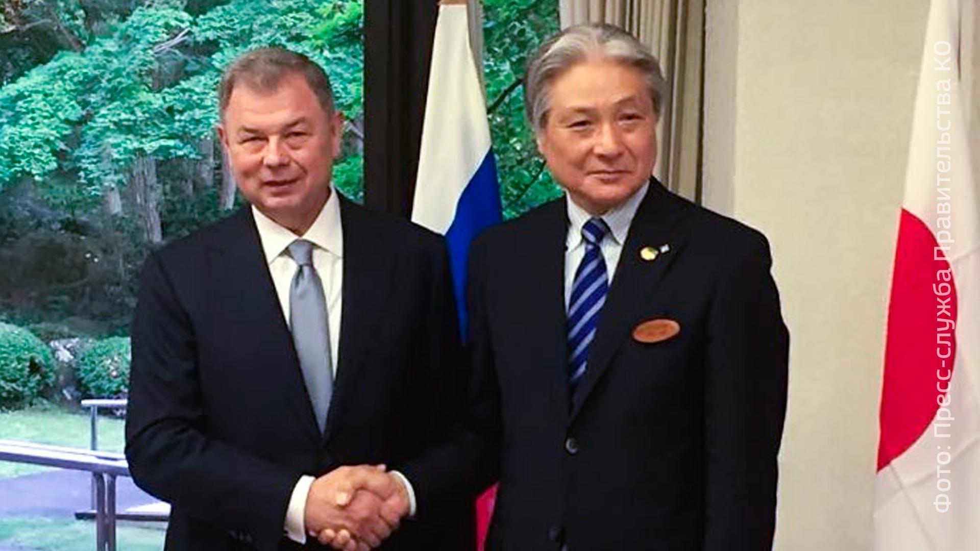 Губернатор Калужской области Анатолий Артамонов 7июня улетел вЯпонию
